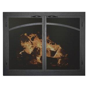 Elegant Series Fireplace Glass Door