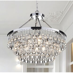 9 bulb chandelier wayfair mcknight 9 light crystal chandelier aloadofball Gallery
