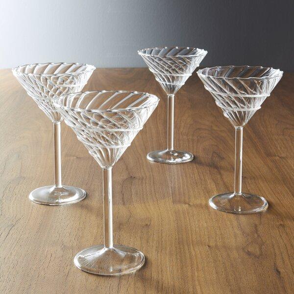 Palazzo Confetti 6 Oz. La Boheme Martini Glass (Set of 4) by Abigails