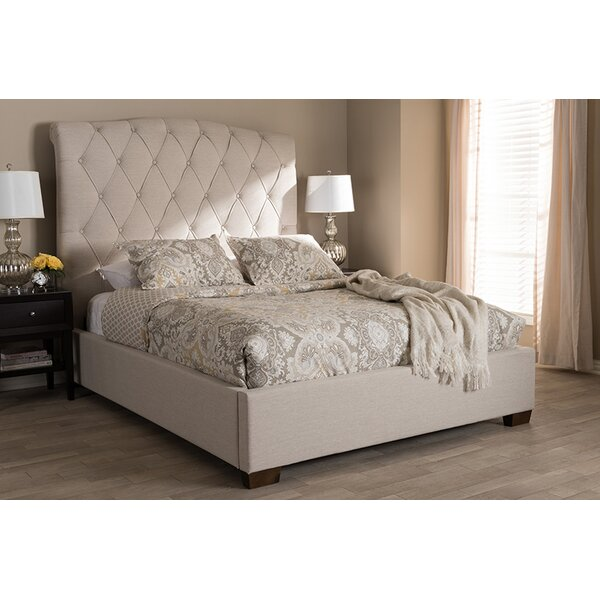 Lynmouth Upholstered Platform Bed by Everly Quinn