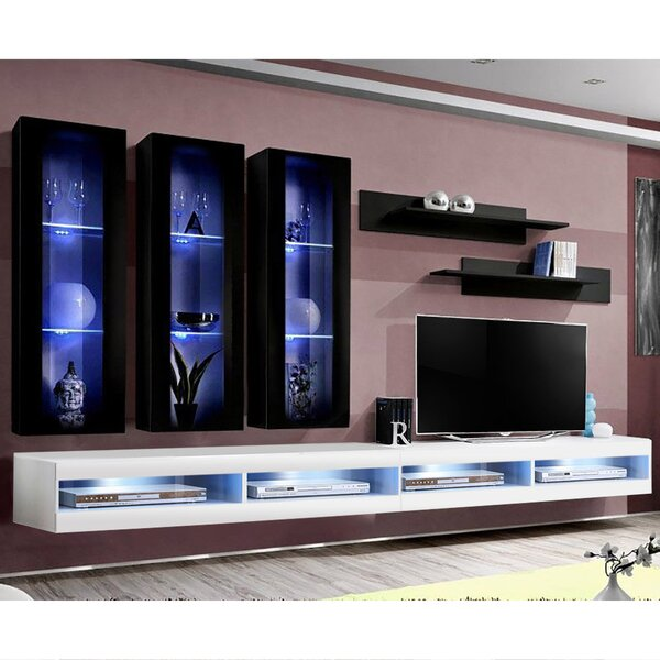 Review FLYE3 Floating Entertainment Center For TVs Up To 70