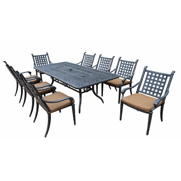 Arness 12 Piece Dining and Bistro Set by Darby Home Co