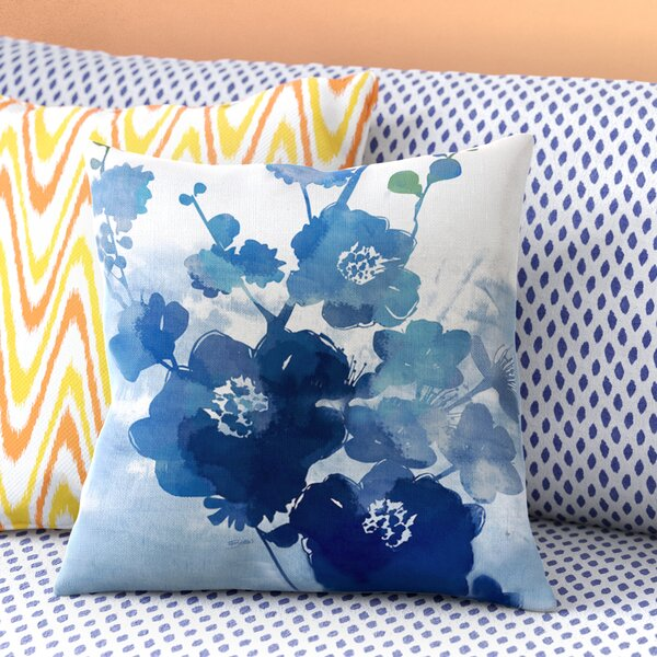 Granville Printed Throw Pillow by Latitude Run