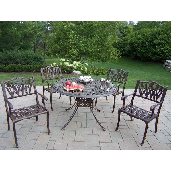 Farrior 5 Piece Dining Set by Brayden Studio