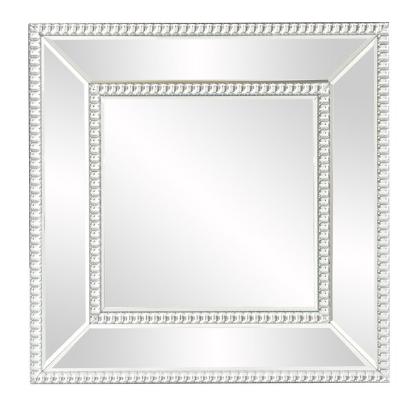 House of Hampton Mirrored Frame Wall Mirror   Wayfair