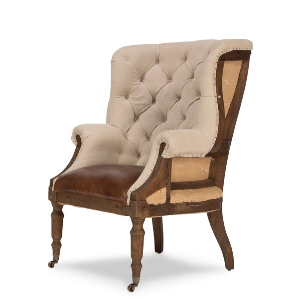 Spann Wingback Chair by Canora Grey Canora Grey