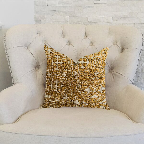 Gallucci Textured Luxury Pillow by Bloomsbury Market