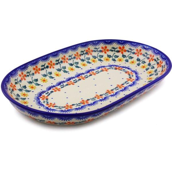 Polish Pottery Platter by Polmedia