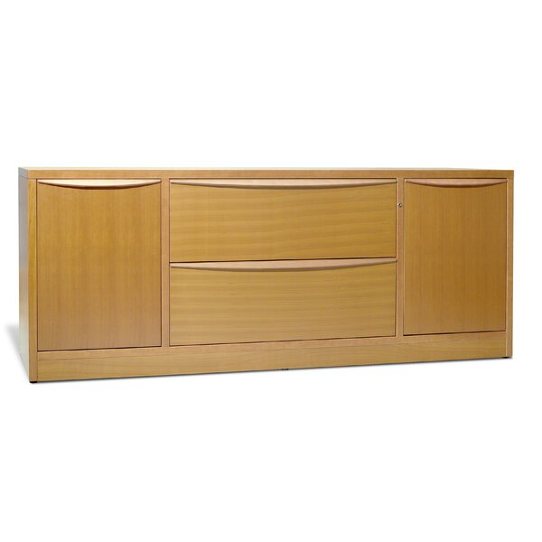 Sit-Stand Series 2 Door Credenza by Haaken Furniture
