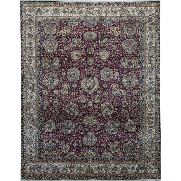 One-of-a-Kind Sona Hand-Knotted Red 12' x 15'1 Area Rug