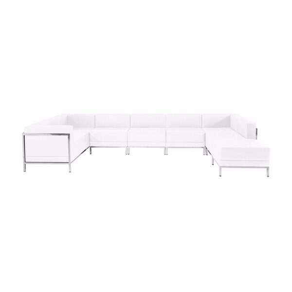 Shop Your Favorite Annabel  U-Shape Right Hand Facing Sectional with Ottoman by Orren Ellis by Orren Ellis