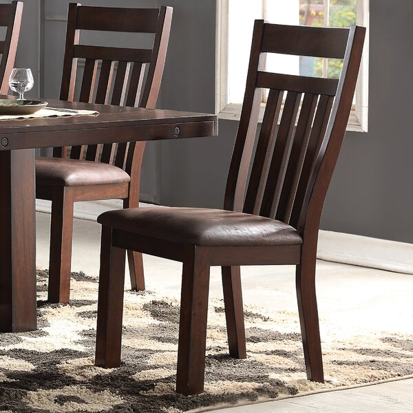 Varner Upholstered Dining Chair (Set of 2) by Alcott Hill