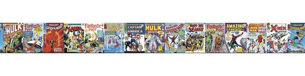 Walt Disney Kids II Classic Marvel 9 Border Wallpaper by York Wallcoverings