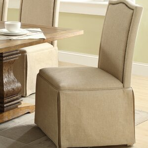 alison skirted parson chair set of 2