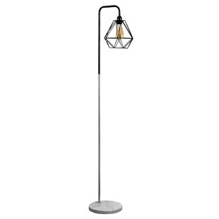 Black nickel floor lamp wayfair talisman 153cm floor lamp aloadofball Gallery