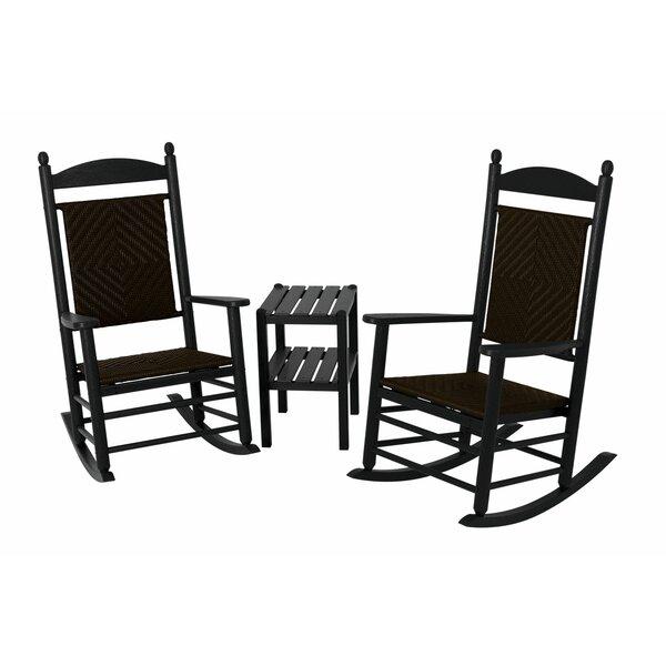 Jefferson 3 Piece Conversation Set by POLYWOOD®