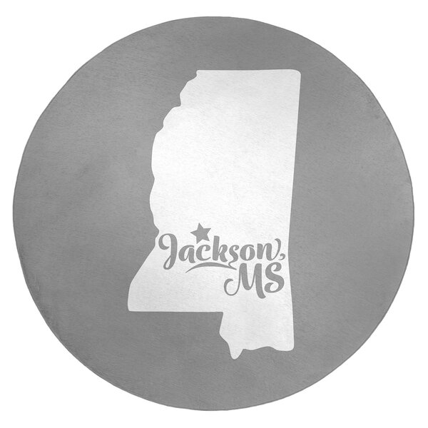 Jackson Mississippi Poly Chenille Rug