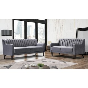 Sadye 2 Piece Living Room Set by Corrigan Studio®