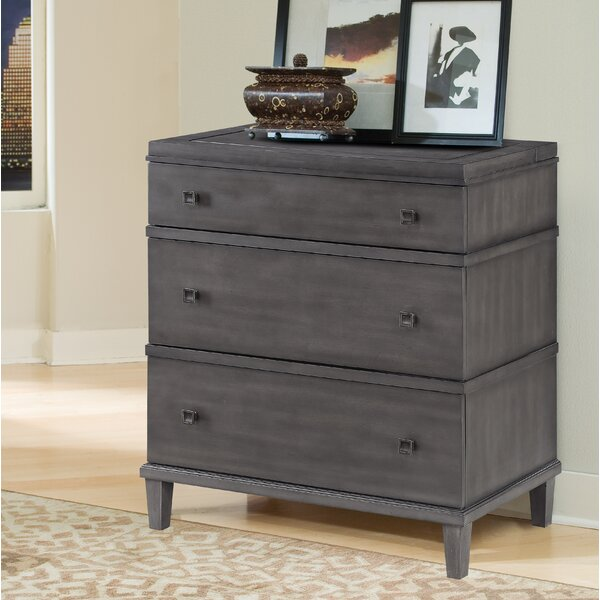 Wilmar 3 Drawer Bachelors Chest by Red Barrel Studio