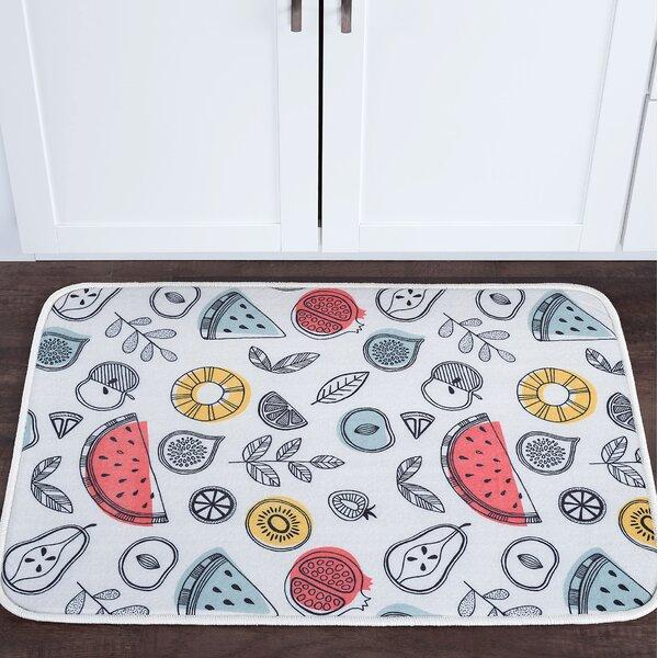 Knepp Fruit Foam Core Bath Rug by Zipcode Design