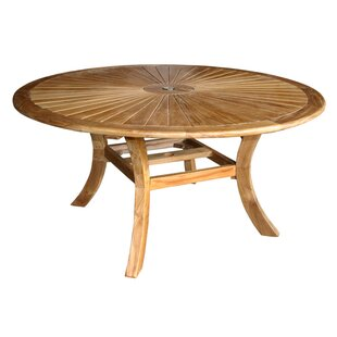 Inexpensive Teak Dining Table By Darby Home Co