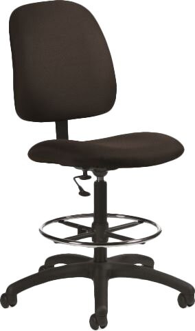 Goal Total High-Back Drafting Chair by Global Total Office