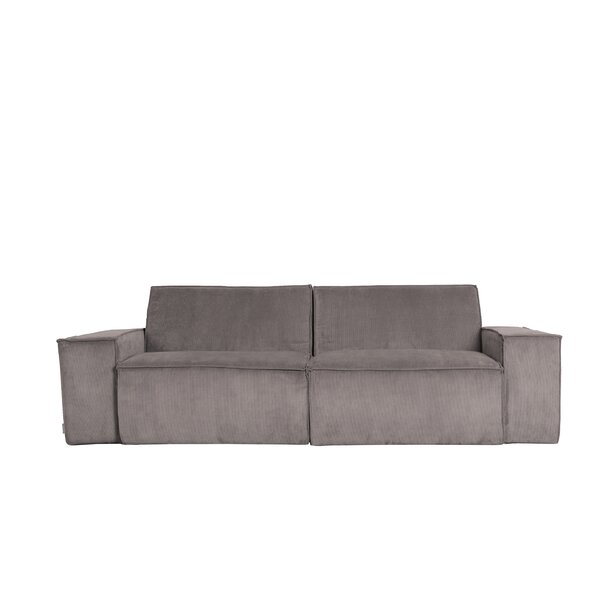 88'' Square Arm Loveseat By Zuiver