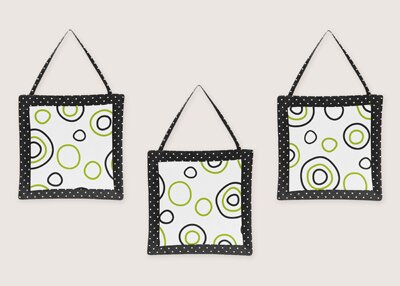 3 Piece Spirodot Wall Hanging Set by Sweet Jojo Designs