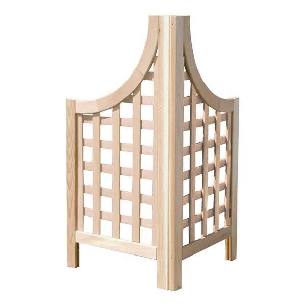 2 Piece Phat Tommy Andover Wood Lattice Panel Trellis by Buyers Choice