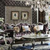 St George Velvet 113 Pillow Top Arm Sofa by Astoria Grand