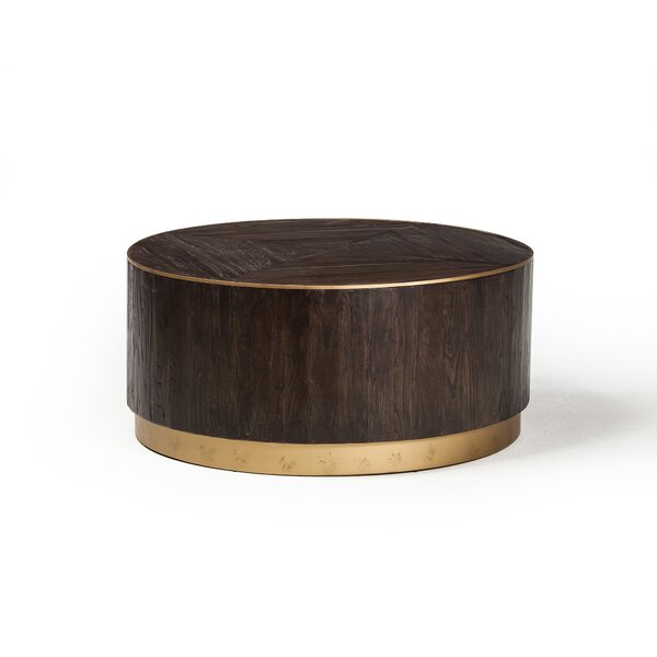 Lanz Drum Coffee Table by Mercer41