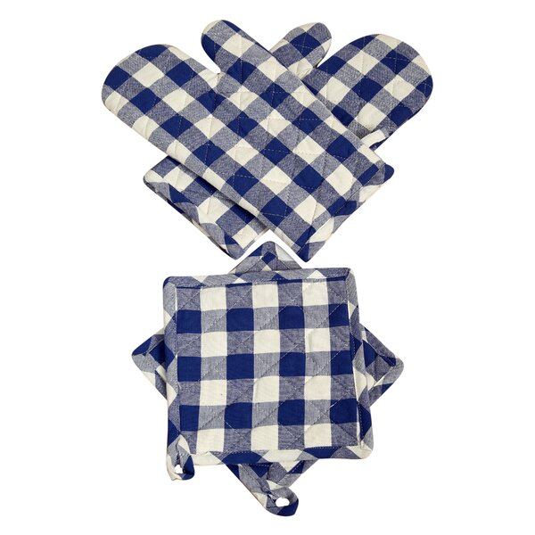 Dorine 4-Piece Pot Holder Set by August Grove