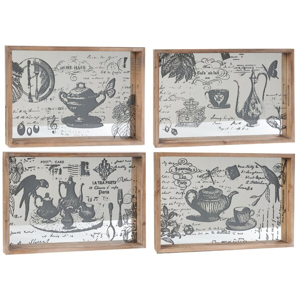 Serving Tray Set (Set of 4) by A&B Home