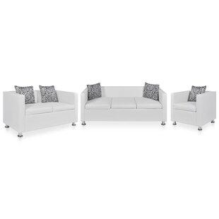 Bornais 3 Piece Living Room Set by Latitude Run®