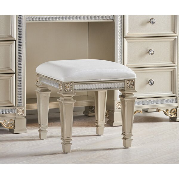 Tiffany Vanity Stool by Fairfax Home Collections