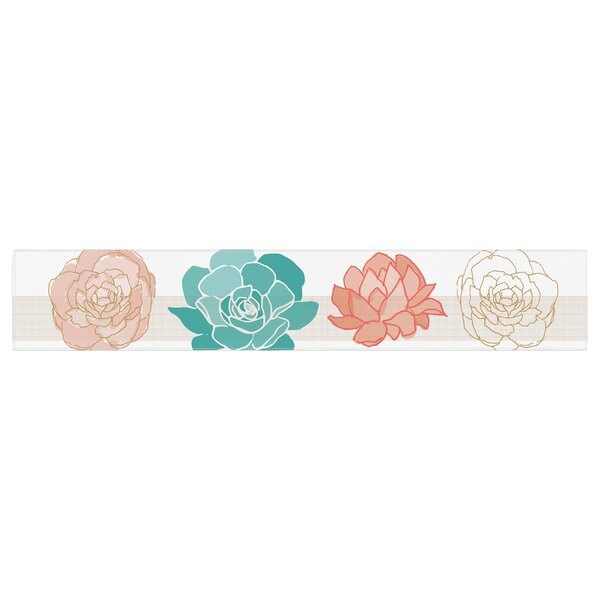 Pellerina Design Flower Square Table Runner by East Urban Home