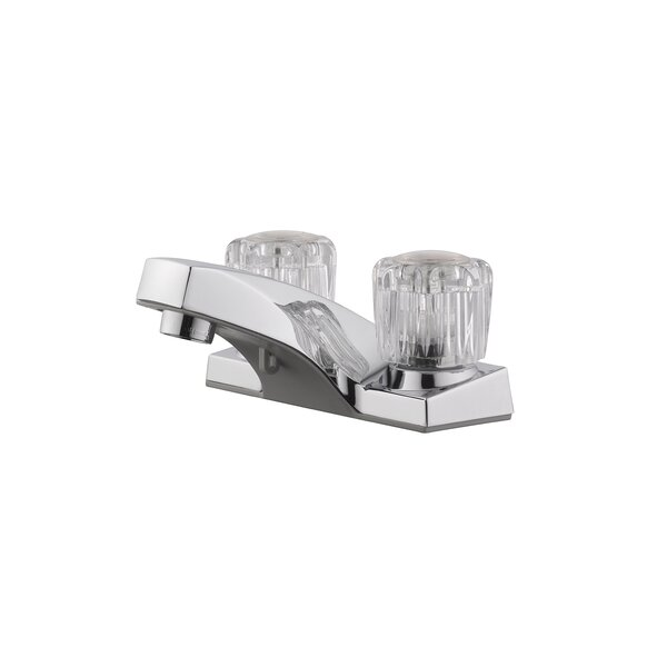 Millbridge Centerset Bathroom Faucet with Drain Assembly by Design House