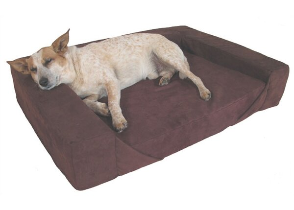 Comfort Den Memory Foam Bolster Dog Bed by MaxComfort