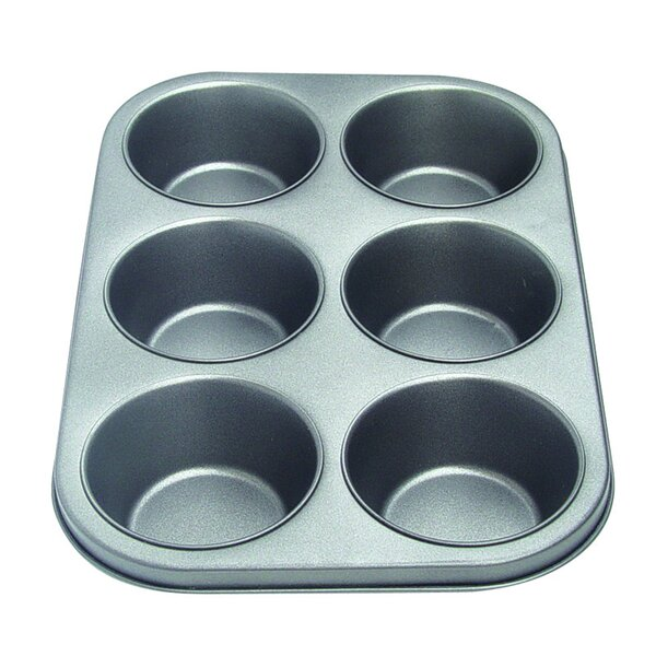 Non-Stick 6 Cup Muffin Pan by Culinary Edge
