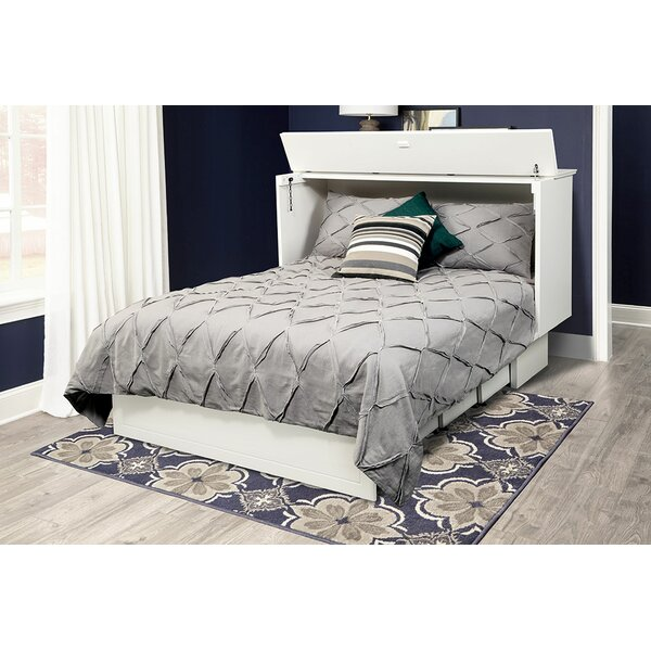 Catherine Queen Storage Murphy Bed with Mattress by Pyper Marketing LLC