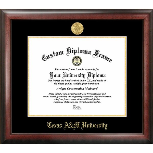 NCAA Texas A&M University Diploma Picture Frame by Campus Images