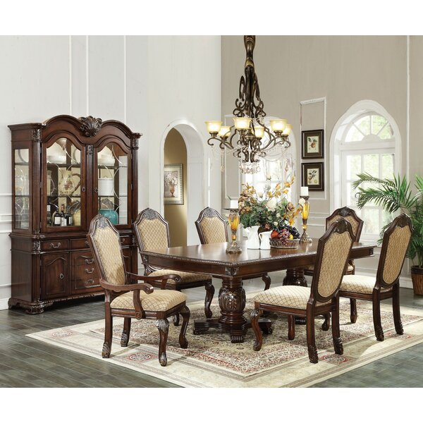 Zaida 7 Pieces Extendable Dining Set by Astoria Grand Astoria Grand