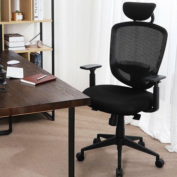Etna Swivel Mesh Ergonomic Office Chair by Rebrilliant