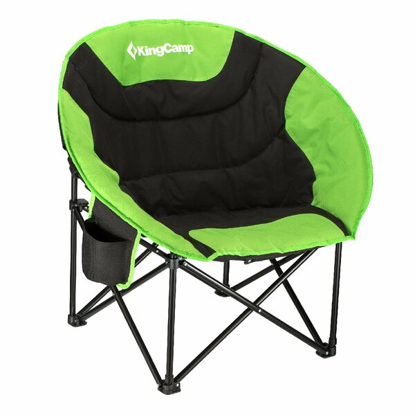 Moon Saucer Folding Camping Chair with Carry Bag by Kingcamp Kingcamp