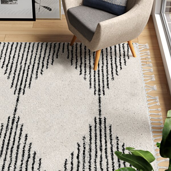 Modern Contemporary Off White Area Rug Allmodern