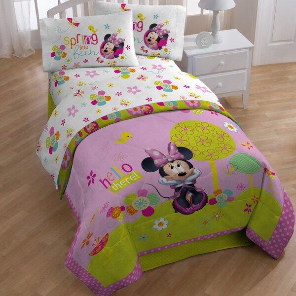 Minnie Bowtique Garden Party Sheet Set by Disney