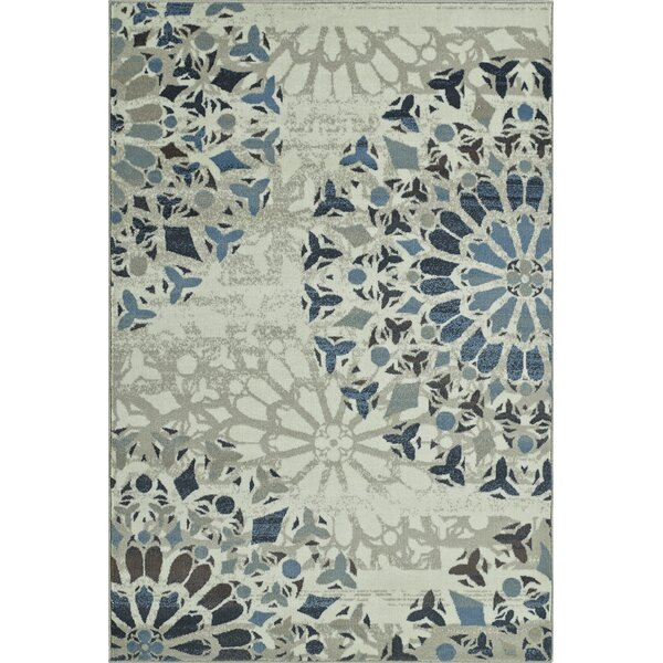 Birtha Ivory Area Rug by Bungalow Rose