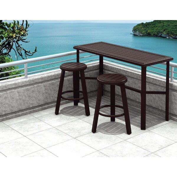 Banchetto Bar Height Dining Set by Tropitone