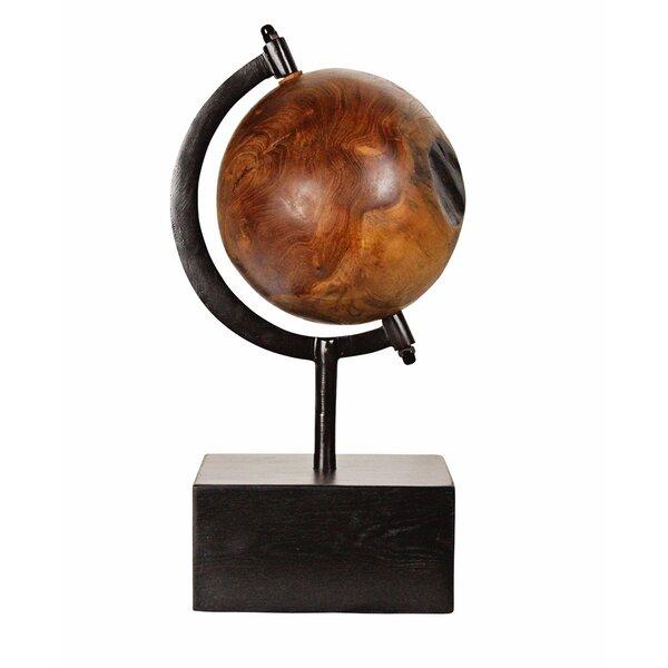 Teak World Turning Sculpture by Ibolili