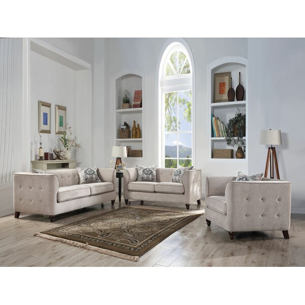 Looking for Quartz Configurable Living Room Set By Bungalow Rose Discount